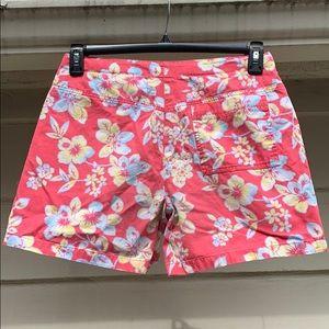 Talbots Shorts - Early 2000s Talbots Kids Floral Shorts